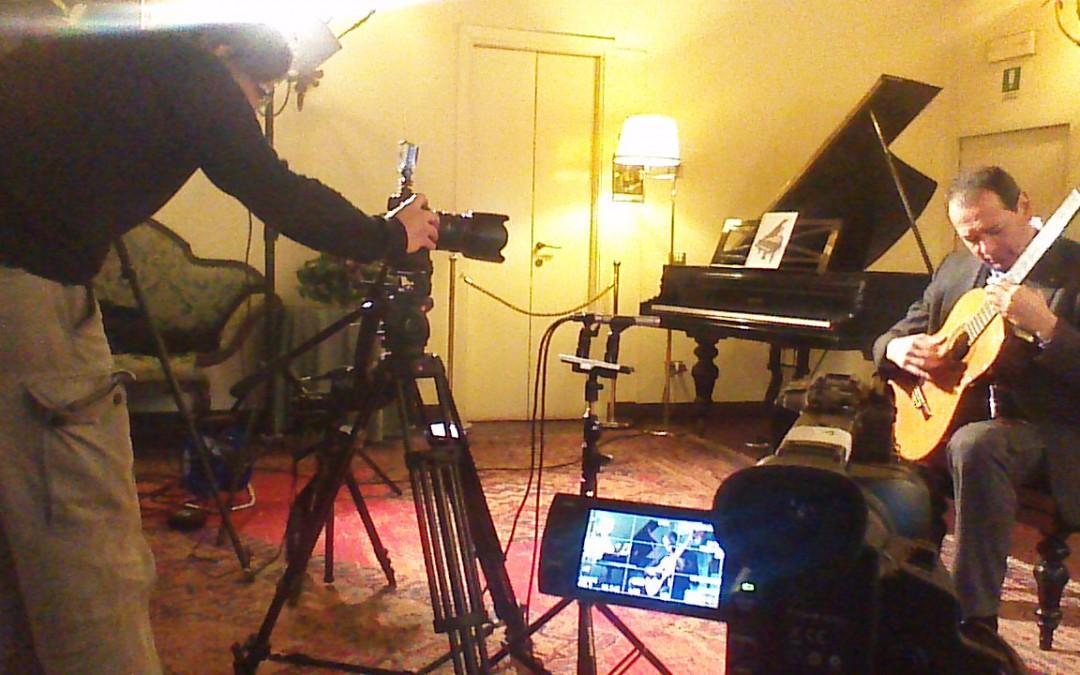 Antonio Grande: video registrazione per Brava HDTV