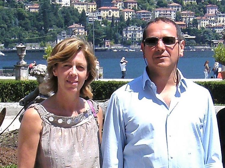 Cecile Prakken e Antonio Grande