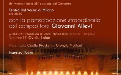 Presentatrice a Cantù e a Milano