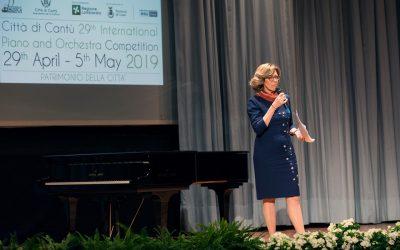 Presentatrice al Concorso Internazionale